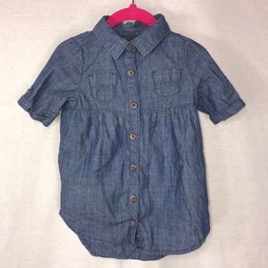 Old Navy Chambray Shirt Dress • 18-24 Months